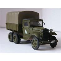 Збірна модель для склеювання тривісний вантажівка ГАЗ-ААА