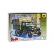 Сборная модель для склеивания трёхосный грузовик ГАЗ-ААА