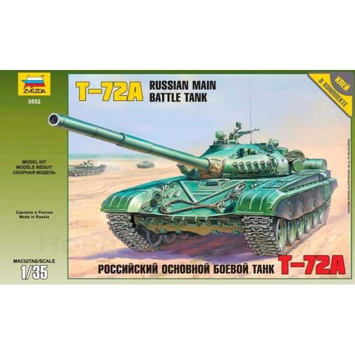 Збірна модель для склеювання радянський танк Т-72А