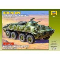 Збірна модель для склеювання радянський БТР-70 (Афганістан)