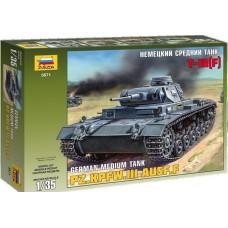 Сборная модель для склеивания немецкий танкТ-III (F)