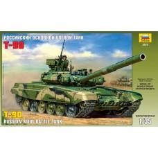 Сборная модель для склеивания российский основной боевой танк Т-90