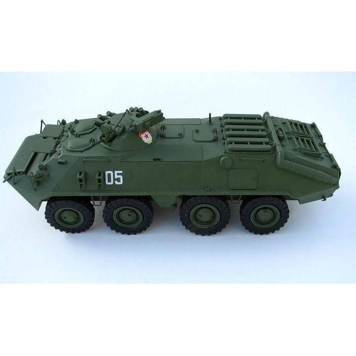 Збірна модель для склеювання БТР-70 башньою МА-7