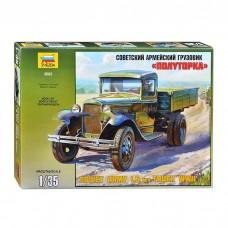 Збірна модель для склеювання вантажівка АЗ-АА Полуторка