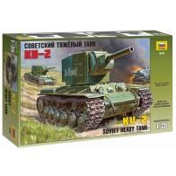 Сборная модель для склеивания советский танк КВ - 2