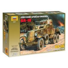 Сборная модель для склеивания бронеавтомобиль БА-10