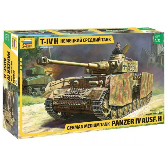 Збірна модель для склеювання німецький танк T-IV H