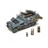 Збірна модель для склеювання німецький БТР Ханомаг з пусковими установками
