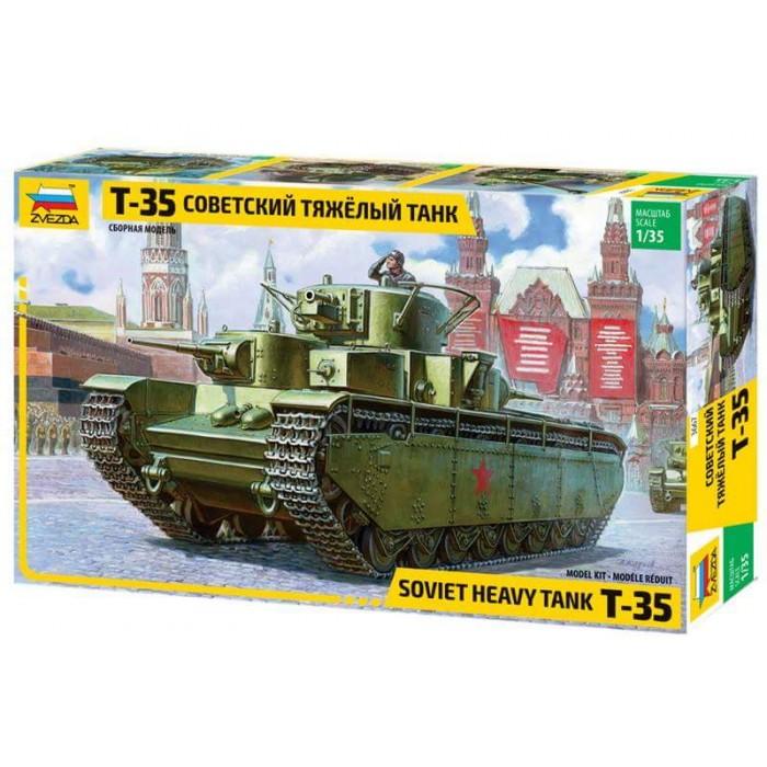 Збірна модель для склеювання радянський важкий танк Т-35
