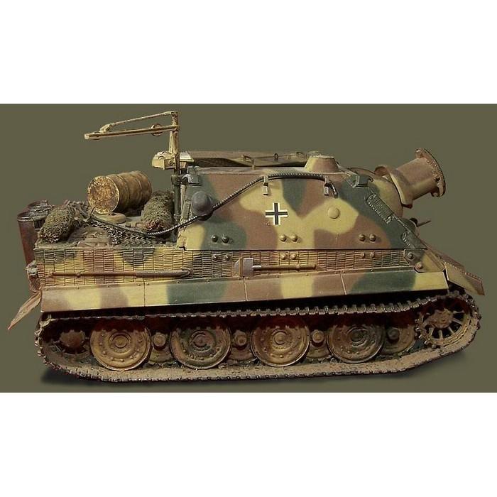 Збірна модель для склеювання німецьке важке штурмову знаряддя Штурмтигр