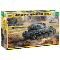 Сборная модель для склеивания немецкий танк Тигр Порше