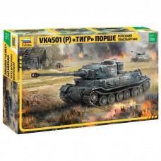 Збірна модель для склеювання німецький танк Тигр Порше