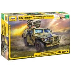 """Збірна модель для склеювання бронеавтомобіль ГАЗ """"Корнет"""""""