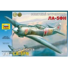 "Збірна модель для склеювання літак ""Ла-5ФН"""