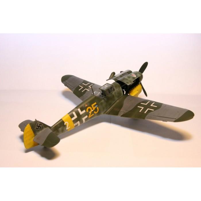 """Сборная модель для склеивания самолет """"Мессер BF-109F4"""""""