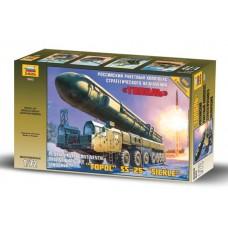 """Сборная модель для склеивания ракетный комплекс """"Тополь"""""""