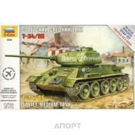 Сборная модель советский танк Т-34/85