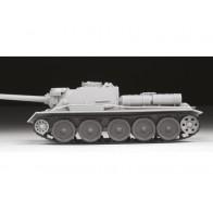 Сборная модель  советская САУ СУ-100