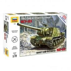 Сборная модель советский истребитель танков ИСУ-122