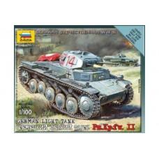 Збірна модель німецький танк Т-II