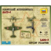 Сборная модель cоветский истребитель ЛАГГ-3