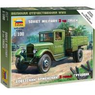 Збірна модель радянська вантажівка ЗІС-5