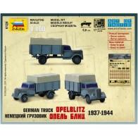 Збірна модель німецька вантажівка Опель Бліц