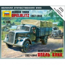 Сборная модель немецкий грузовик Опель Блиц