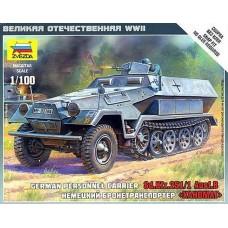 Збірна модель немецкий бронетранспортер Ханомаг