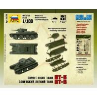 Сборная модель советский танк БТ-5