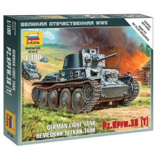 Збірна модель німецький танк Т-38