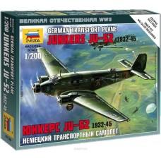 Збірна модель німецький літак Юнкерс Ю-52