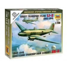 Збірна модель радянський літак Лі-2