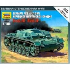 Сборная модель немецкое штурмовое орудие Stug-III Ausf.B