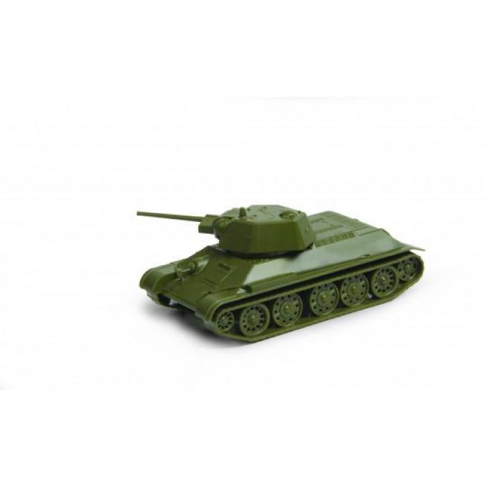 Сборная модель советский  танк Т-34/76 1943г.