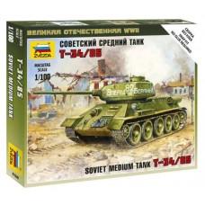 Збірна модель радянський середній танк Т-34/85