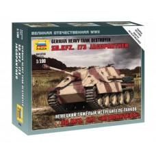 Сборная модель немецкий тяжелый истребитель танков Ягдпантера