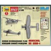 Збірна модель німецький літак-розвідник Henschel