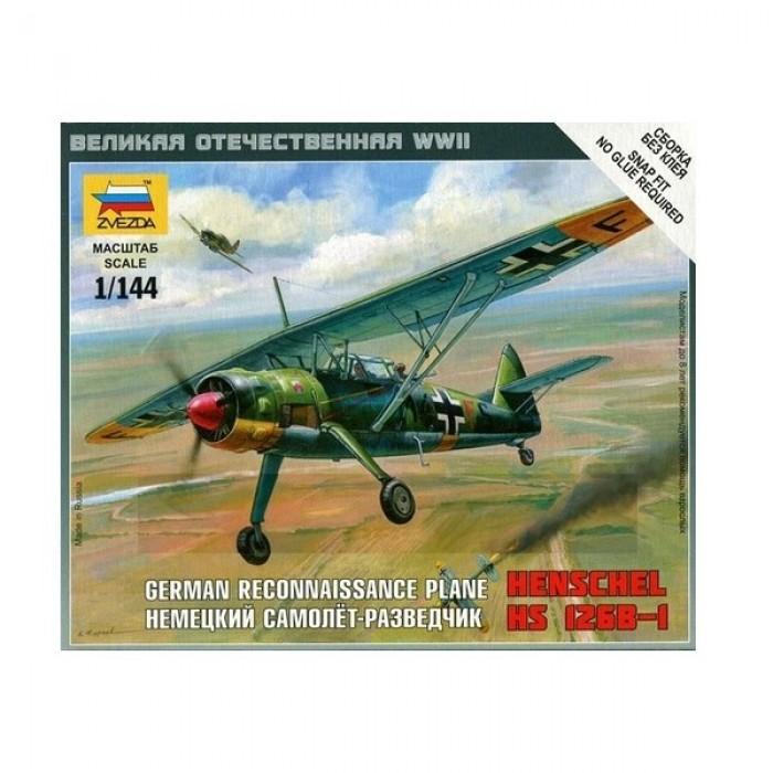 Сборная модель немецкий самолёт-разведчик Henschel