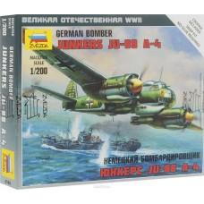 Сборная модель немецкий бомбардировщик Юнкерс 88А4