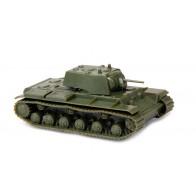 Сборная модель советский танк КВ-1 с пушкой Ф32 (обр. 1941г)