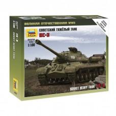 Сборная модель советский тяжёлый танк Ис-3