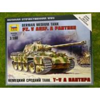 Сборная модель немецкий средний танк Т-V A Пантера