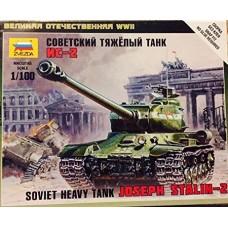 Сборная модель советский тяжёлый танк Ис-2