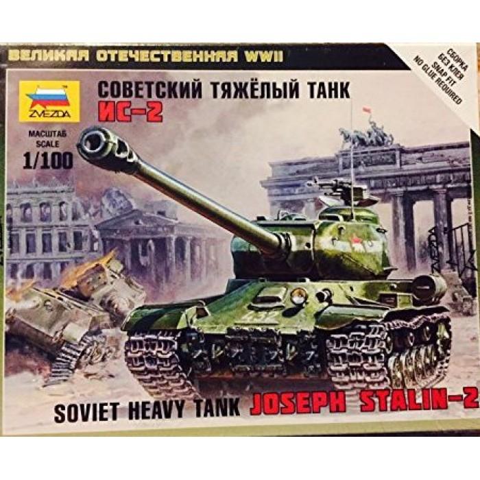 Збірна модель радянський важкий танк Іс-2