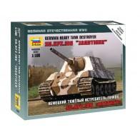 Збірна модель німецький важкий винищувач танків Ягдтигр