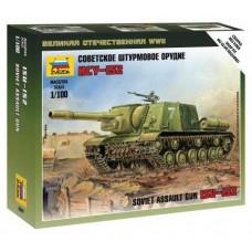 Сборная модель советский танк ИСУ-152