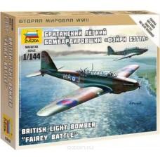 Сборная модель британский легкий бомбардировщик Бэтл