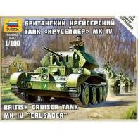 Збірна модель британський крейсерський танк Крусейдер MK IV