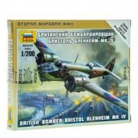 Збірна модель британський бомбардувальник Брістол Бленхейм IV